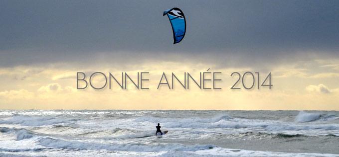 bonne année 2014 surfnkite
