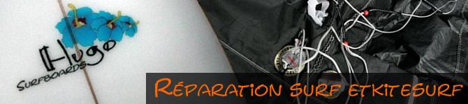 réparation kitesurf