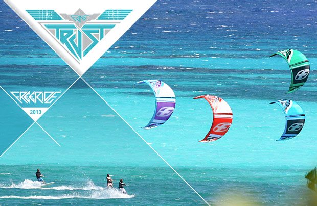 F-one Trust kite 2013